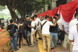 Polisi tangkap tujuh pendemo diduga kelompok  Anarko