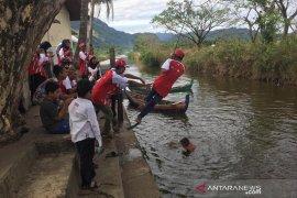 Peserta SMN Banten kagumi keindahan Gampong Nusa