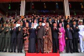 Rapat Paripurna DPRD Lampung Peringati HUT Ke-74 RI