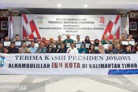 Balikpapan: Terima kasih Presiden Jokowi