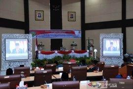 Bupati Tapanuli Selatan dengarkan pidato kenegaraan