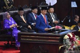 Presiden : Penerimaan APBN 2020 Rp2.221,5 triliun
