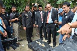 212 kg ganja kering diamankan BNN di Tebing Tinggi