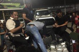 BNN bengkuk 7 penyelundup sabu 20 kg di Pelabuhan Merak