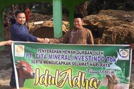 CITA sumbang belasan hewan kurban ke masyarakat Ketapang