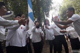 PT Timah tanam 200 pohon di kawasan Taman Tirta Budaya Mentok