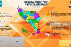 Banjir bandang terjang puluhan rumah di  Aceh Selatan