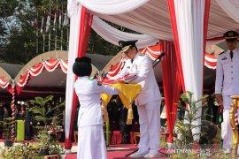 Video : Wakil Bupati HSS pimpin peringatan HUT ke-74 Republik Indonesia