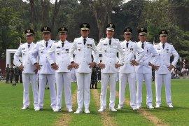 Wali Kota dan Wakil Wali Kota beserta para Camat se-Kota Bogor Jawa Barat