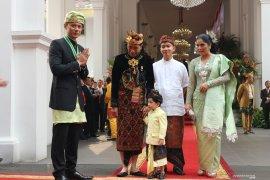 Para tamu negara kenakan ragam baju adat upacara kemerdekaan RI