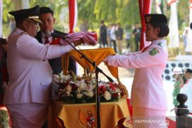 Berlangsung Kidmat, Bupati Pimpin Upcara Hut RI ke 74 di Kutim