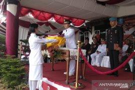 Bupati Bangka akui pertama kali jadi inspektur upacara HUT ke-74 RI