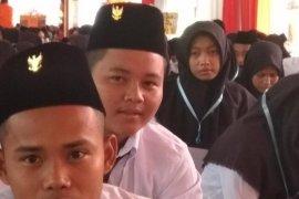"""Mahasiswa baru Unja upacara HUT Kemerdekaan kenakan lambang """"Garuda"""""""