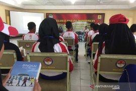 Peserta SMN Banten bertekad berbagi pengalaman lewat buku