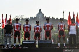 Timnas di Tour d'Indonesia bukan tim yang disiapkan ke SEA Games