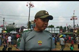 TNI bersama masyarakat Padangsidimpuan gelar HUT RI