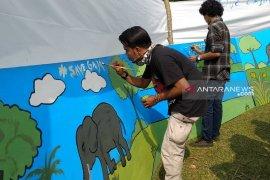 Hari Gajah dipusatkan di TWA Seblat Bengkulu