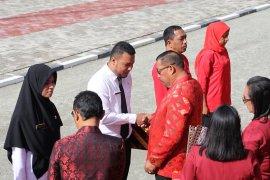 255 CPNS Maluku terima SK pengangkatan pada HUT ke-74 Provinsi