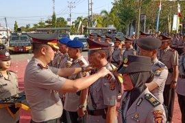 Sejumlah perwira Polres Paser dimutasi