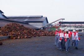 Peserta SMN Sulawesi Tengah kunjungi PKS  Adolina PTPN IV