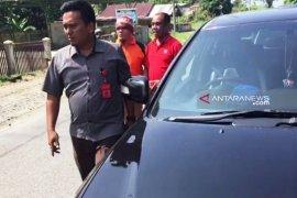 Mantan Ketua DPRK Nagan Raya Aceh di luar lapas ditangkap jaksa