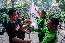 Riset: Mitra Gojek bahagia bergabung bersama karya anak bangsa