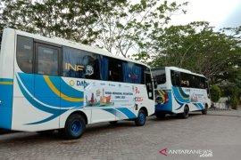 Perum Damri siagakan dua bus dukung peserta SMN 2019