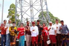 """Desa Siakin-Bangli miliki """"tower"""" Telkomsel"""