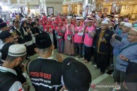 Jamaah haji SUB 41 mulai tinggalkan Mekkah menuju Madinah