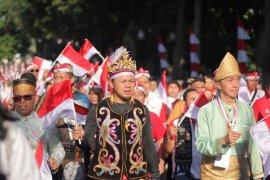 Gegap gempita peringatan HUT RI di Kota Bogor