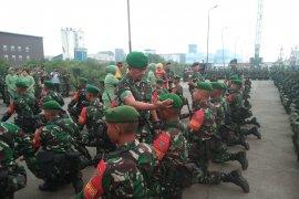 Pangdam I/BB lepas 400 prajurit ke perbatasan  Atambua