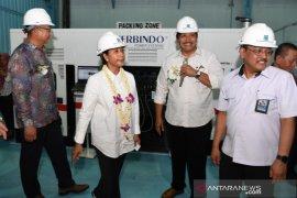 Menteri BUMN percepat kemandirian produksi mesin PT BBI pada 2024 (Video)