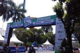 Pedagang diimbau tak berjualan di rute Tour d'Indonesia