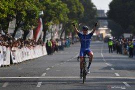 Klasemen hingga usai etape ketiga Tour d'Indonesia