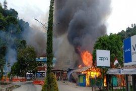 Demonstrasi di Fakfak, Papua Barat diwarnai aksi pembakaran