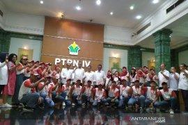 Tiga direksi PTPN IV lepas kepulangan siswa Palu peserta SMN