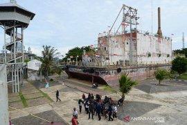 SMN Banten kunjungi situs PLTD Apung