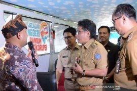 """Bus KPK """"Jelajah Negeri Bangun Antikorupsi"""" tiba di Badung"""