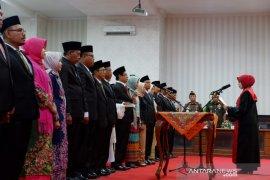 45 anggota DPRD Situbondo masa bakti 2019-2024 dilantik