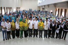 Jemaah Haji Kloter Pertama Asal Lampung Tiba Kembali Di Tanah Air