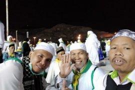 Jamaah haji Sambas bersiap untuk kembali ke tanah air