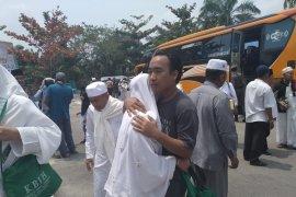 Kelelahan, Satu jemaah haji Dumai harus istirahat di Pekanbaru