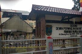 Kapolri, Panglima TNI dan Menkopolhukam tinjau situasi Manokwari hari ini