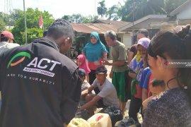 ACT Sumut salurkan air bersih atasi kekeringan di Besitang