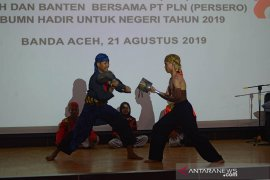 Malam keakraban SMN Banten di Aceh