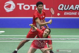 Bulutangkis Denmark Open, Praveen/Melati ke semifinal setelah tumbangkan unggulan utama