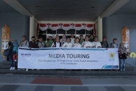 PLN Kalbar - jurnalis gelar Media Touring tingkatkan sinergitas
