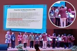 Pusat Diklat Nasional raih akreditasi A se-Sumatera dari LKPP
