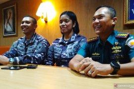 Letda Michelle, Taruni pertama asal Papua  bertugas di kapal perang