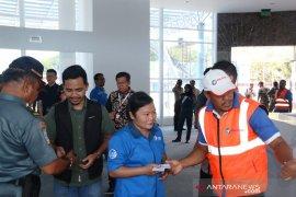 September 2019, terminal penumpang Pelabuhan Sibolga resmi dioperasikan